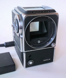 Hasselblad 500EL/M motor camera with AA battery pack