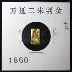 Japan - 2 Shu (1860-1869) - Man'en - gold