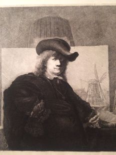 Ignace-Joseph de Claussin (1766–1844) - after Rembrandt - 1801 and/or 1807 - 1808