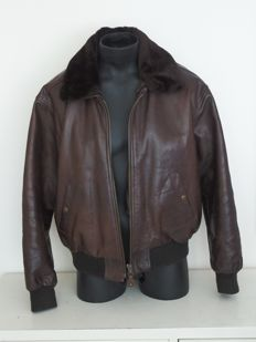 Redskins - Leather Convertible / motorcycle jacket