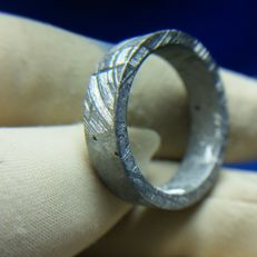 Seymchan Meteorite ring - 19 mm