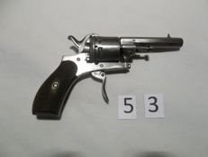 PIN FIRE REVOLVER 7 mm