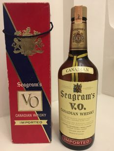 Seagram4s VO Canadian whisky 1967 (75cl &40%)