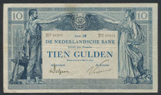 Netherlands - 10 guilders 1904 - Arbeid en Welvaart (labour and prosperity) - mevius 36-4b
