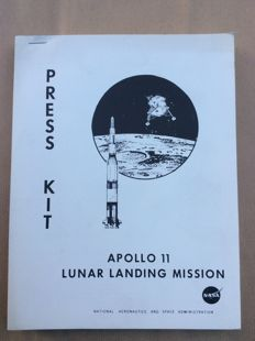 Apollo 11 Lunar Landing Mission - Press Kit - 1969