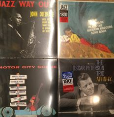Legendary jazz albums || Deluxe editions || Limited edition || Oscar Peterson, John Coltrane, Pepper Adams ||