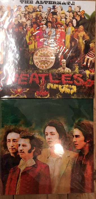 Two Albums Of The Beatles Sgt Pepper S Lonely Hearts