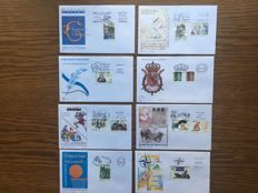 Spain 1970/2000s - Lot of 255 different first day covers