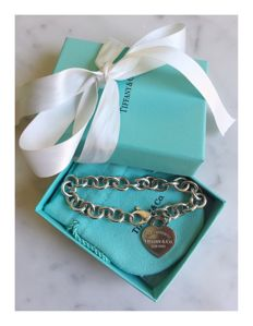 Tiffany & Co 'Return to Tiffany' bracelet, 925 silver, length: 20 cm
