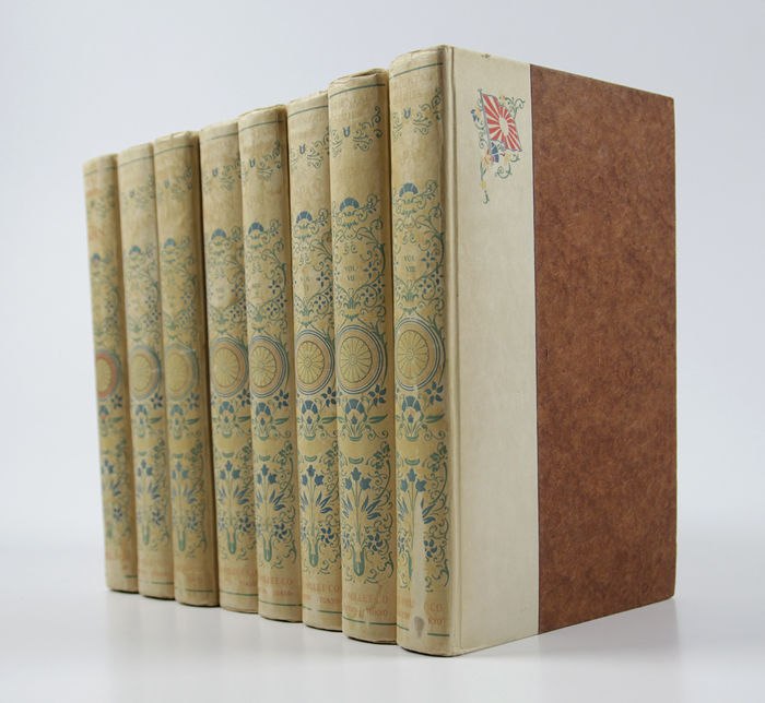 Oriental Series 1-8 - Japan, a century ago in eight beautiful illustrated volumes - 1910
