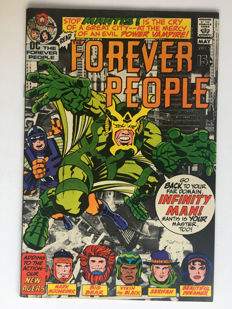 DC Comics - Forever People #2 - Very High Grade - 1st print - 1x sc - (1971)