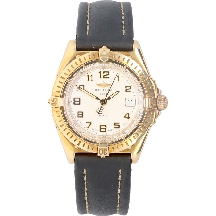 Breitling - Wings - 18 karat Yellow gold  - B67050 - Dames - 2000-2010