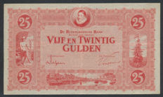 Netherlands - 25 guilders 1929 - William of Orange - mevius 75-1