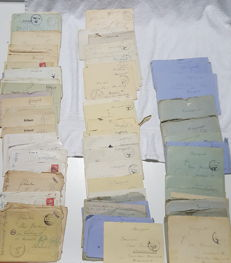 70 German letters from the occupied Paris 1943-45