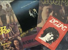 "The Doors lot of 5 studio albums + live 2LP - incl. ""The Doors"", ""L.A. woman"", ""Strange days"", ""Waiting for the sun"", ""The soft parade"" and ""Absolutely live (2LP)"""