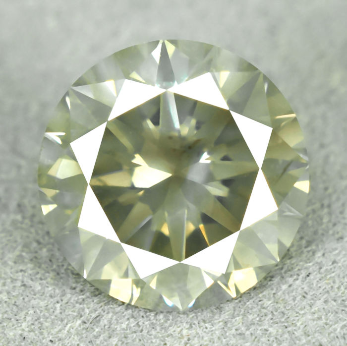 Diamond - 3.02 ct, EXC/EXC/EXC