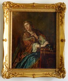 French school of the 18th century - Marie Madeleine