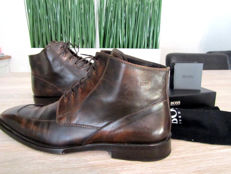 Hugo Boss - Campos Leather Lace up Boots