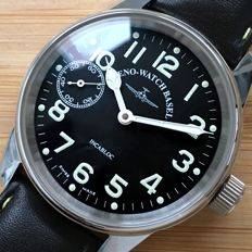 Zeno Watch Basel Pilot Manual Date New With Tags Men´s Watch
