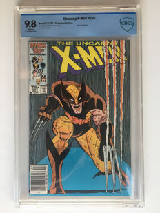Marvel Comics - X-Men #207 - CGC 9.8 graded!! - Extremely High Grade - 1x sc - (1986)