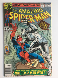 "Marvel Comics - The Amazing Spider-Man #190 - ""The Man-Wolf"" - 1x sc - (1978)"