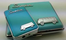 VW lighter + cigarette case Volkswagen Transporter Bulli