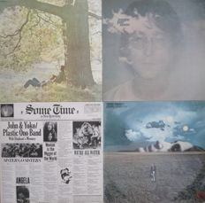 John Lennon - Lot of 8 albums (Apple / EMI / Geffen / Polydor 1970-1983) - UK and other press