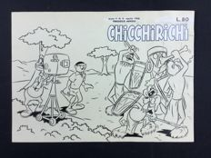 "Angiolini, Sandro - original cover ""Chicchirichì"" no. 4 (1956)"