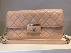 Chanel - Sheepskin Leather Chain Flap  Shoulder bag