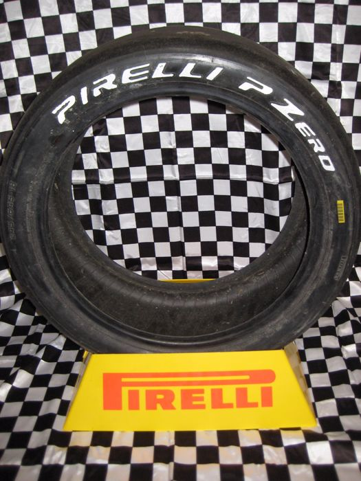 Pirelli tire stand - advertising stand