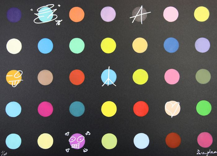 Ziegler T - My kid Just ruined my Damien Hirst (black)