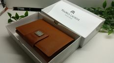 Maurice Lacroix wallet for documents in brown leather