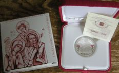 Vatican - 10 Euro 2008 'World Peace Day' - silver