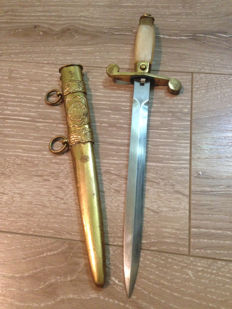 Officer Dagger - Romanian Communist Army officer's dagger - Ceausescu 1950