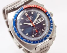 "Seiko ""Pogue"" Pepsi Bezel Ref 6139-6002 Chronograph Automatic Men's Wrist Watch - circa 1970s"