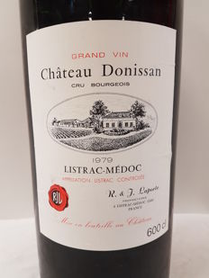 1979 - Chateau Donissan - Cru Bourgeois - Listrac  x  1 Imperial 600 cl