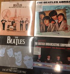 Four albums of The Beatles || Limited editions || Coloured vinyl || Live recordings