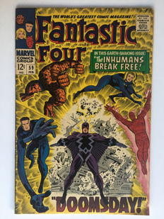 Marvel Comics - The Fantastic Four #59 - Inhumans - 1x sc - (1966)