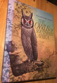 Alan Kemp, Simon Calburn - The Owls of Southern Africa - 1987