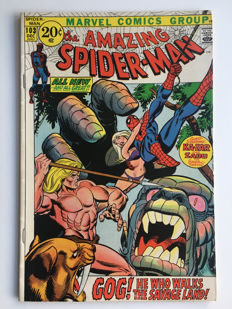 Marvel Comics - The Amazing Spider-Man #103 - Kazar - 1x sc - (1971)