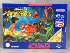 Súper Nintendo Game - The jungle book - PAL / EUR - Text on screen in English