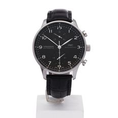 IWC - Portugieser chronograph IW371438 Excellent  -  no:5377xxx - Homme - 2010