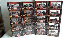 Maisto - Scale 1/18 - Lot with 20 Harley-Davidson motorcycles