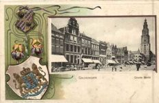 The city of Groningen, 60x (old to very old cards)