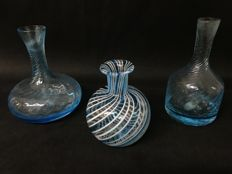 Venosa e Santi - Three Murano glass vases