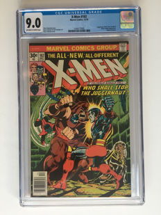 Marvel Comics - X-Men #102 - CGC 9.0!! graded - High Grade - Origin of Storm - 1x sc - (1976)