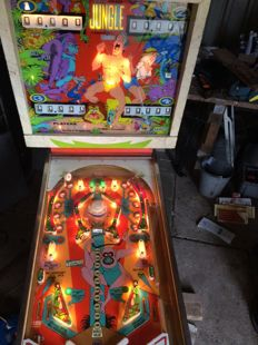 Gottlieb jungle 4-player 1972