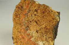 Crocoite - red vein in matrix with some crystal faces - rare location - 10.7 x 8,2 x 4,3 cm - 551 g