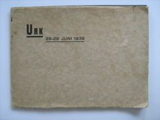 Urk-Album with 215 cards, and photo album URK, June 1939