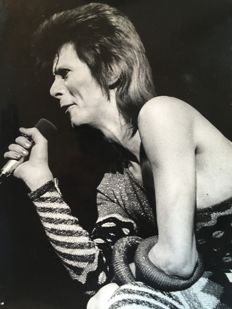 Unknown - David Bowie, 'Ziggy Stardust Tour', London, 1973